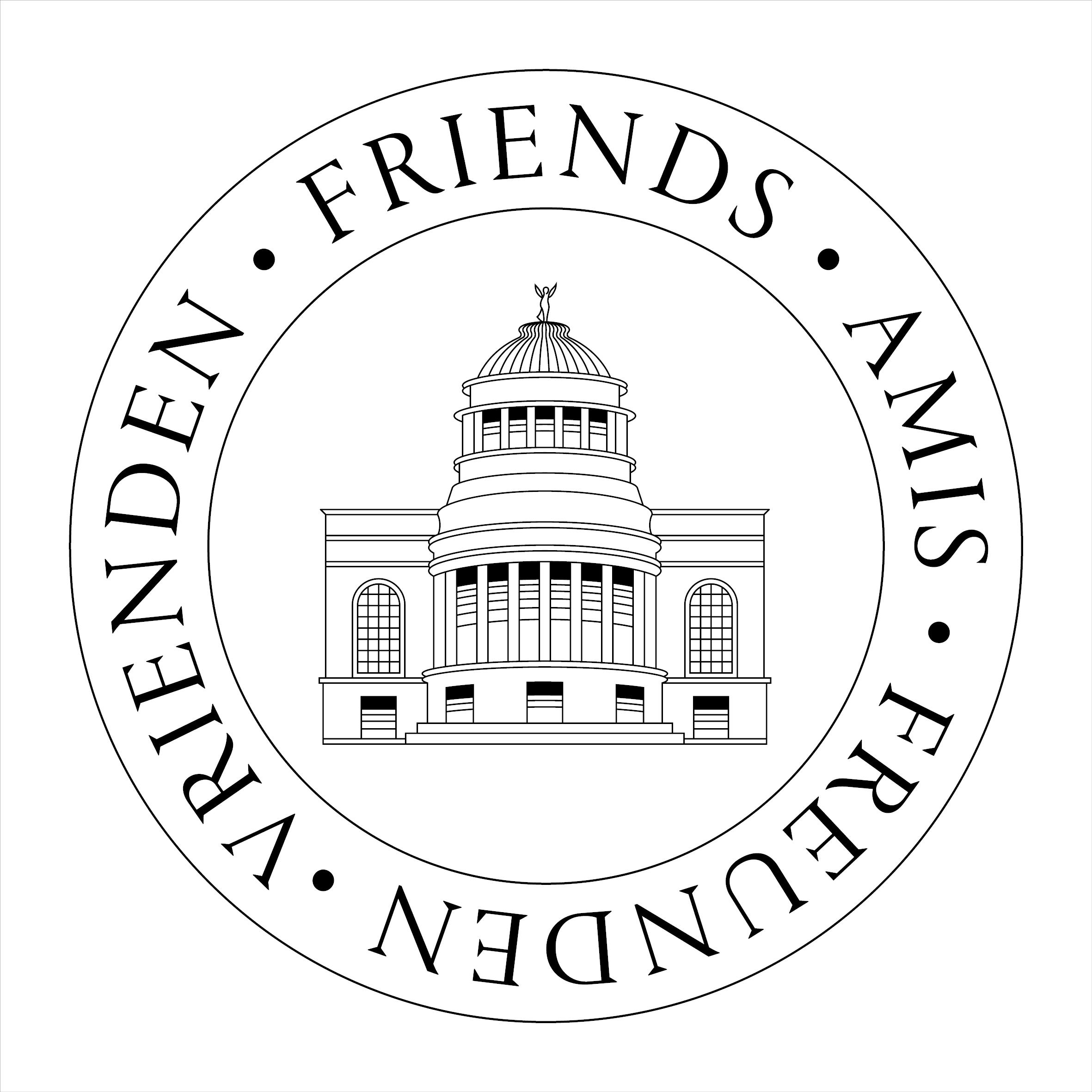 Logo de Vrienden van de Koninklijke Musea voor Kunst en Geschiedenis