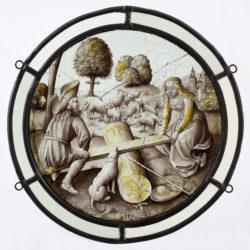 Koppel op een schommel, Low Countries, 1st half of 16th c. © KIK-IRPA, Brussels